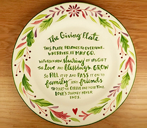 Edison The Giving Plate