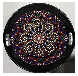 Edison Mosaic Mandala Tray
