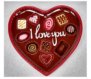 Edison Valentine's Chocolate