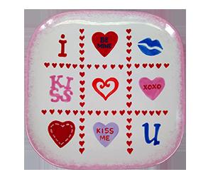 Edison Valentine's Tic Tac Toe