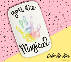 Edison Rainbow Hand-print