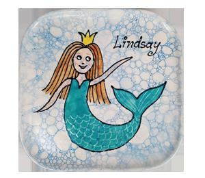 Edison Mermaid Plate