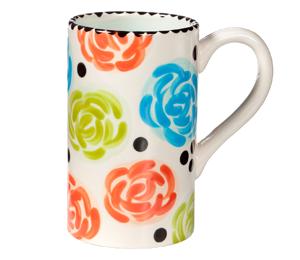 Edison Simple Floral Mug