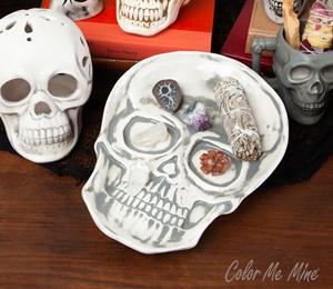 Edison Vintage Skull Plate