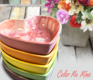 Edison Candy Heart Bowls