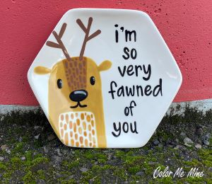 Edison Fawn Plate