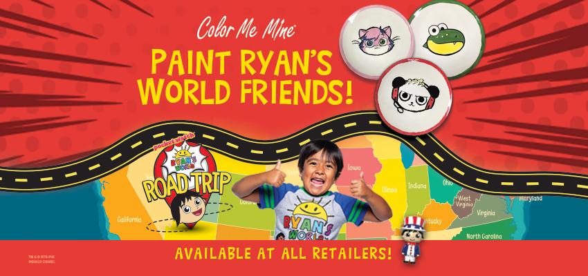 ryan s world coloring fun edison edison color me mine